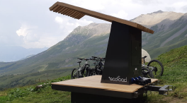 Ecoload - stations solaires VTT